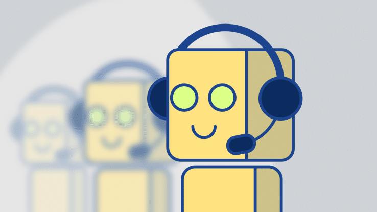 Robots answering calls