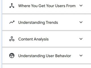 GA insights on demand answers common business questions about web analytics